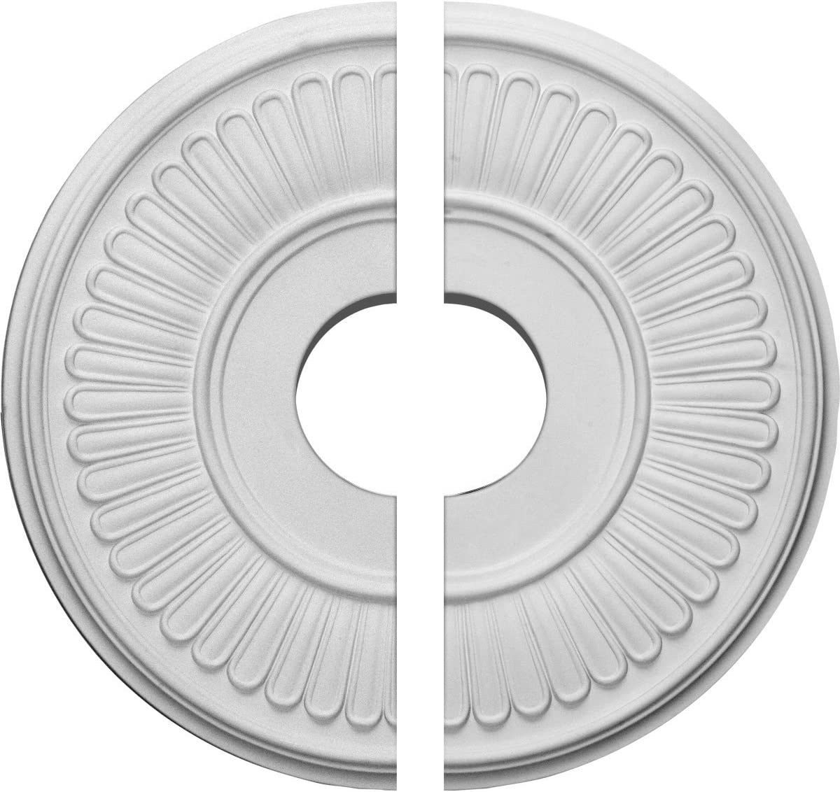 Ekena Millwork CM15BE2 Berkshire Ceiling x Credence Medallion Sales for sale 4