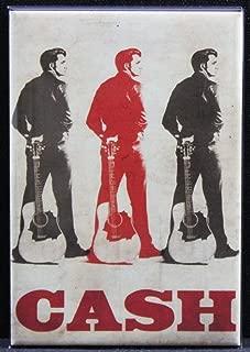 Johnny Cash Refrigerator Magnet.
