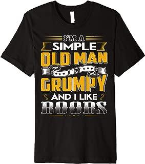 I'M Grumpy And I Like Boobs T-Shirt