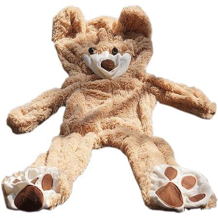 "102/"" 8.5ft HUGE GIANT TEDDY BEAR case no COTTON PLUSH LIFE SIZE STUFFED ANIMAL"