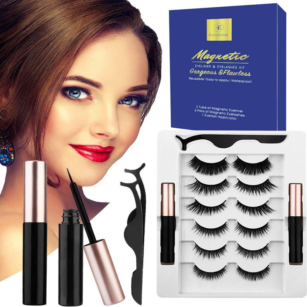 Magnetic Eyelashes Kit-NO Eyelash Needed Ranking TOP4 Reusable In stock Glue