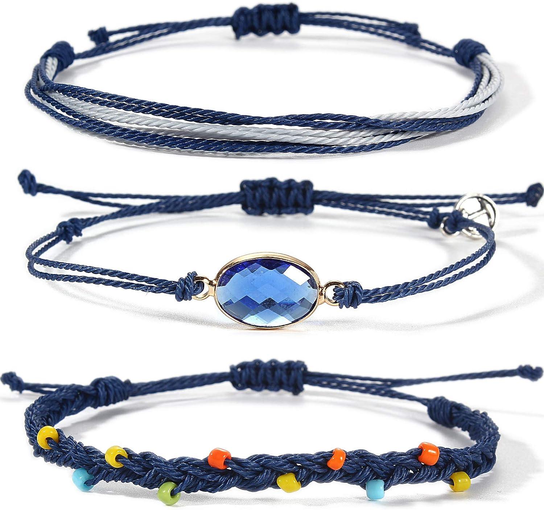 Lynnaneo Beaded String Complete Free Shipping Bracelets Birthstone Boho Seattle Mall Charm