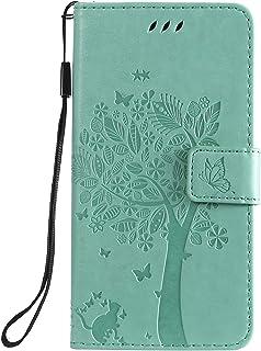LODROC Lederen Portemonnee Case voor Moto G7 Play, [Kickstand Feature] Luxe PU Lederen Portemonnee Case Flip Folio Cover m...