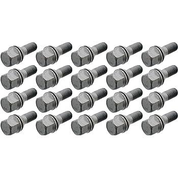20 Jantes Roue Boulons Kegelbund m12x1,25 60 mm pour ALFA ROMEO 145 146 147