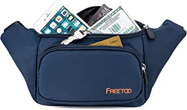 FREETOO Fashion Fanny Packs Waist Bag for Men Women Girls Kids, Fanny Pack Lightweight for Travel Shopping Leisure Time