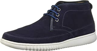 Men's Geuine Leather Ankle Chukka Boot with Sneaker Sole