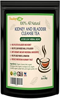 Sponsored Ad - Kidney Cleanse Detox Tea| Kidney Support Supplement with Parsley, Juniper Berries, Cleavers herb for Urinar...