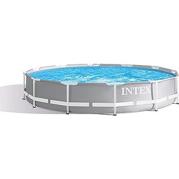 "Intex Round Prism Frame Pool Set | 12ft x 30"" | 26711EH model"