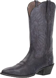 Ariat Heritage Round Toe Western Boots - Women's Leather Cowgirl Boots