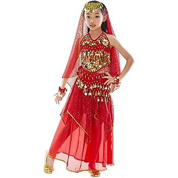 Generique - Disfraz de Princesa India Bollywood para niña 8-10 ...
