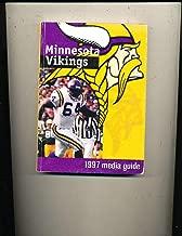 1997 Minnesota Vikings Press Media Official Guide ftbx1