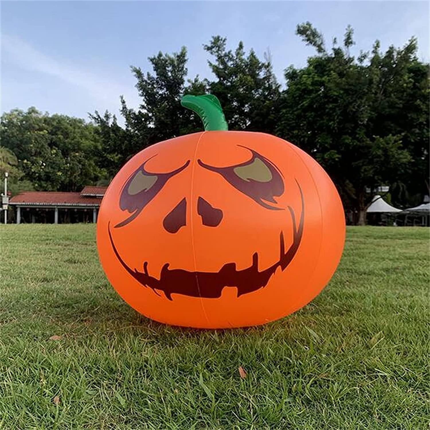 CSOTE Funny Halloween Pool Floating Jacksonville sold out Mall Pumpkin Wat Inflatable Lamp