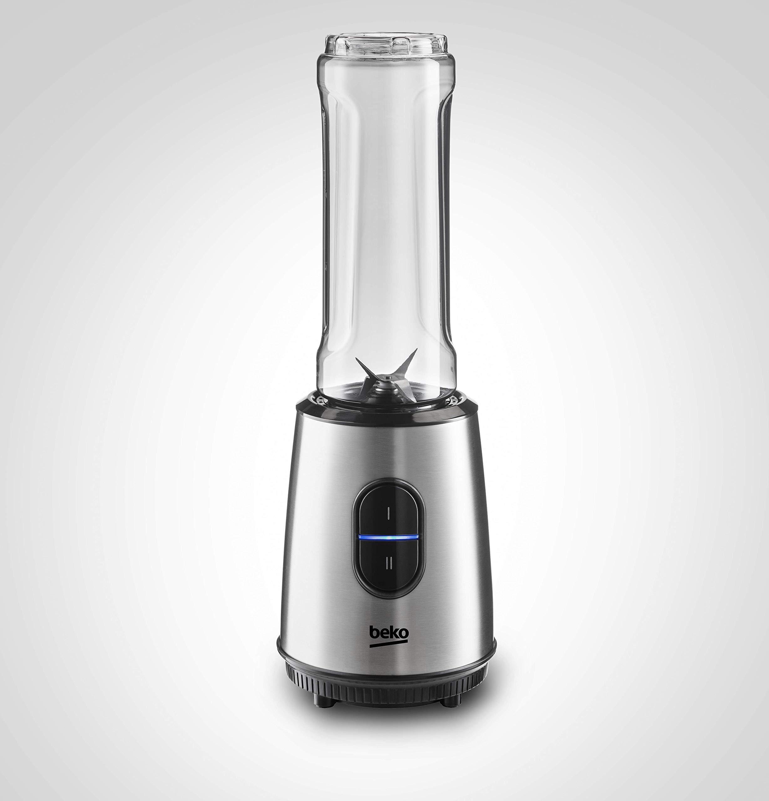 Beko TBP7354X - Licuadora (0,6 L, Batidora de vaso, Negro, Acero ...