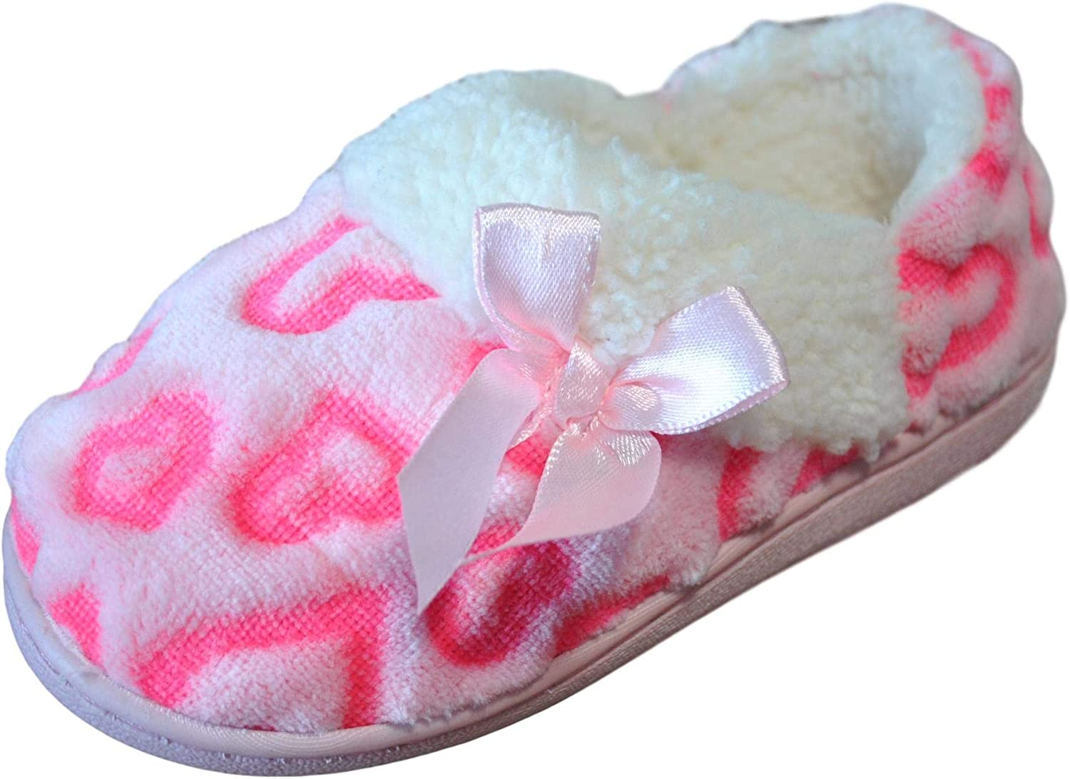 Wonder Nation Spasm price Girl's Pink Soft House Popular products Loafer Slipper Style Shoes