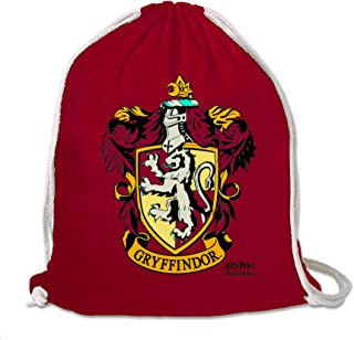 Harry Potter - Gryffindor - Logo - Mochila Saco - Bolsa - rojo - Diseño original con licencia