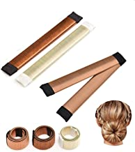 Ealicere 3 Stück Donut Hair Bun Maker, Magic Twist Donut Fr