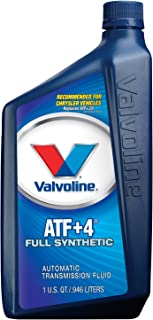 Valvoline +4 Automatic Transmission Fluid - 1qt (Case of 6) (822348-6PK)