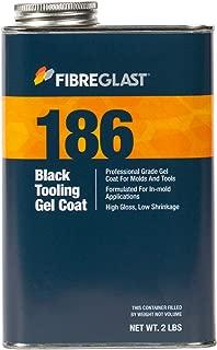 Fibre Glast - Black Tooling Gel Coat - 1 Quart with Hardener - Build Lasting Durability for Molds