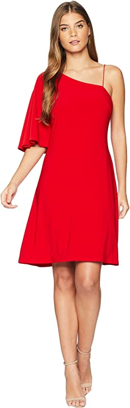 Bayonne One Shoulder Day Dress