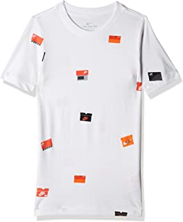Nike Boy's NSW Tee SHOEBOX AOP