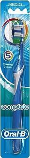 Oral-B Complete Cepillo de dientes manual 5 Formas de Limpieza Medio - colores surtido