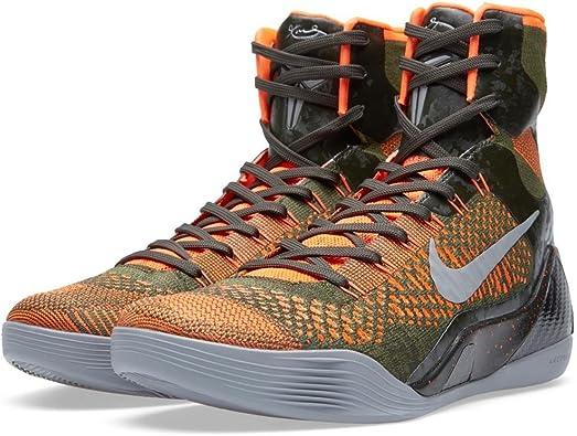 Amazon.com | Nike Kobe IX 9 Elite 'Strategy' 630847-303 Sequoia ...
