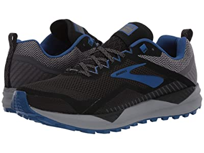 Brooks Cascadia 14 GTX (Black/Grey/Blue) Men