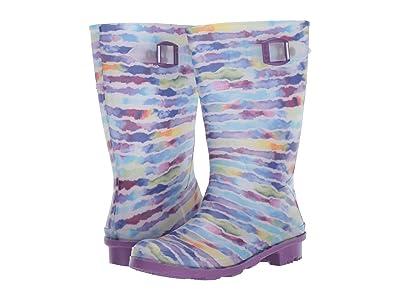 Kamik Kids Rainpaint (Little Kid/Big Kid) (Purple) Girls Shoes