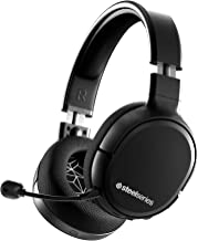 SteelSeries Arctis 1 Wireless Gaming Headset USB-C Detachable Clearcast Microphone Compatible with PC, PS4, Switch and Lit...