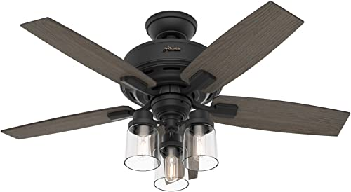 discount Hunter Bennett Indoor discount Ceiling new arrival Fan with LED Light and Remote Control outlet sale