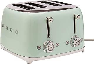 Smeg 4 Slot Toaster Pastel Green TSF03 PGUS