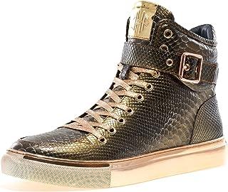 6e274d4e4722 Amazon.com  Gold - Fashion Sneakers   Shoes  Clothing