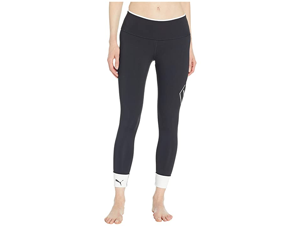 bbfe843df9a81 PUMA Modern Sports Fold Up Leggings (PUMA Black) Women's Casual Pants