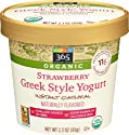 365 Everyday Value, Organic Strawberry Greek Style Yogurt Instant Oatmeal, 2.3 oz