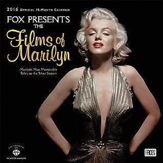 Marilyn Monroe Fox Presents the Films of Marilyn 2016 Wall Calendar