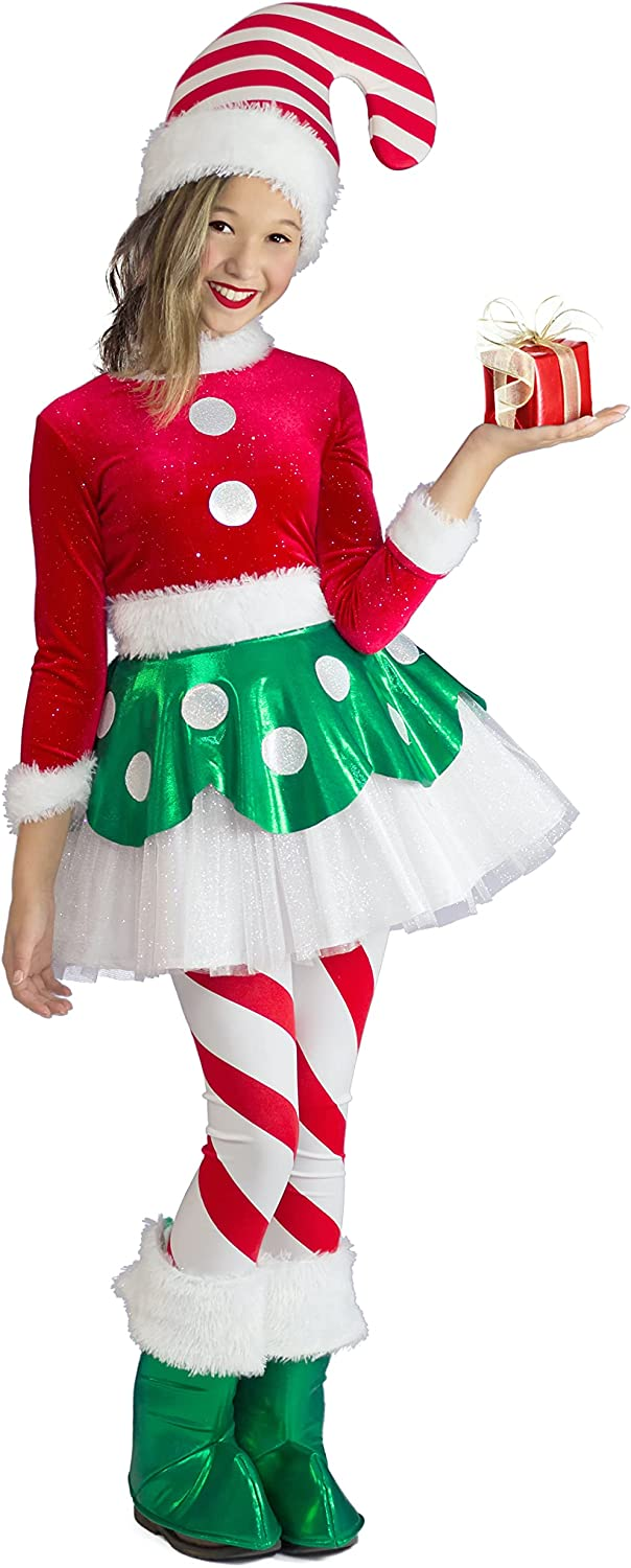 5% OFF Princess Paradise Houston Mall Girl's Candy Elf Costume Cane X-Smal