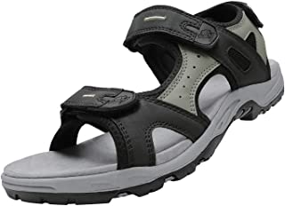 [CAMEL CROWN] メンズ ハイキング サンダル 防水 快適 スポーツ サンダル アーチサポート付き