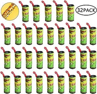 Binen 32 Pcs moscas adhesivas Atrapa Moscas Adhesivo Trampa