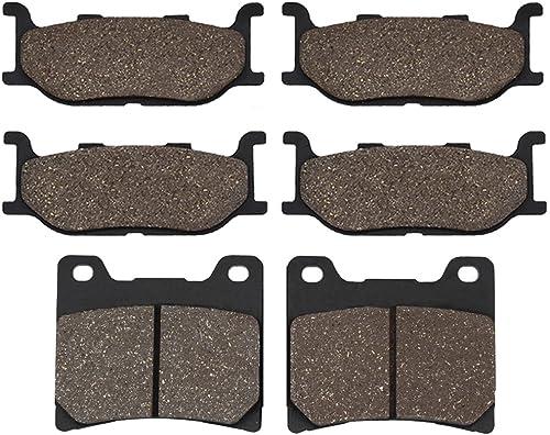 Cyleto Plaquettes de frein avant et arrière pour YAMAHA XJ900 S XJ900S XJ 900 S Diversion 900 1995 1996 1994 1998 199...