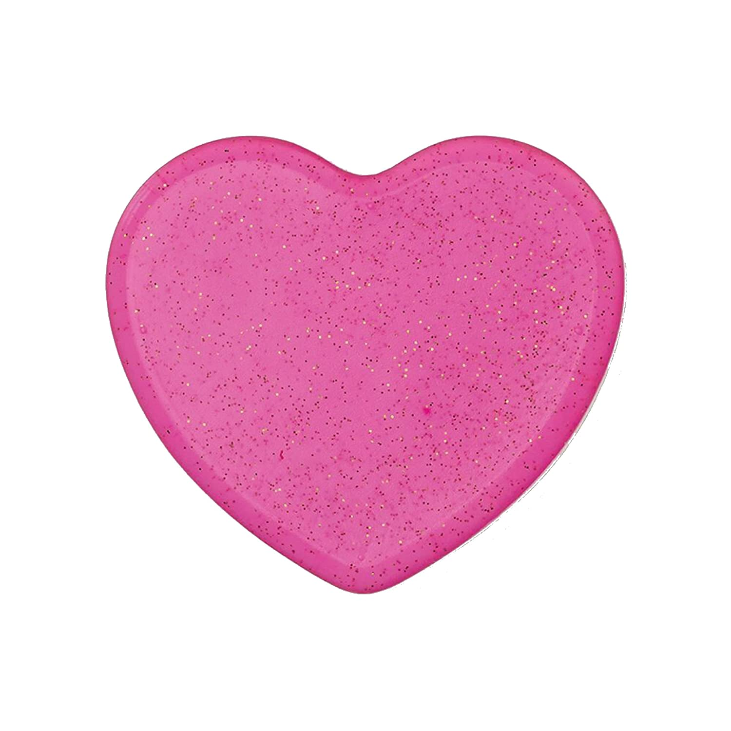 Lexi Noel Beauty Silicone Makeup Sponge Wet/Dry Silicone Makeup Applicator for Liquid/Powder Foundation, Reusable and Washable Silicone Beauty Blender (Pink Heart)