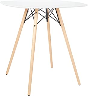 OSP Home Furnishings Allen Counter Table, White
