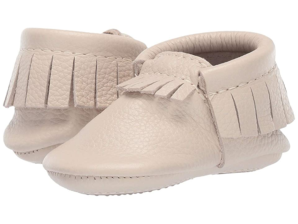 Freshly Picked Mini Sole Moccasins (Infant/Toddler) (Birch) Kids Shoes
