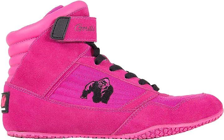 Scarpe bodybuilding donna - gorilla wear high tops donna rosa - bodybuilding e fitness shoes donna 90000260_Pink_US5,5