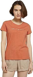 TOM TAILOR Denim Print Camiseta para Mujer