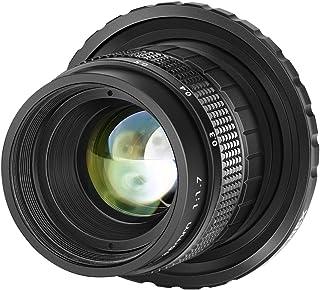 Neewer 35mm F1,7 Obiettivo in Alluminio Apertura Grande APS-C Multi-rivestito Focus Manuale per Sony E-Mount Mirrorless NE...