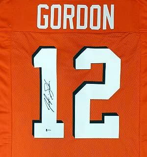 Cleveland Browns Josh Gordon Autographed Orange Jersey Beckett BAS