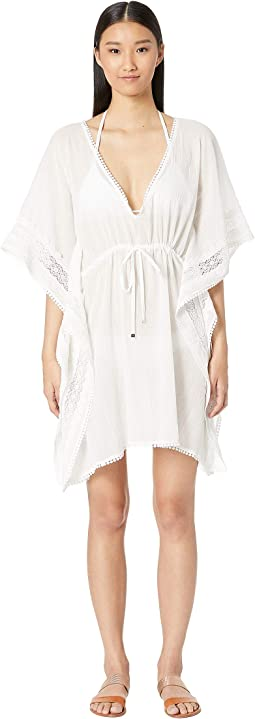 Grove Beach Long Caftan Cover-Up