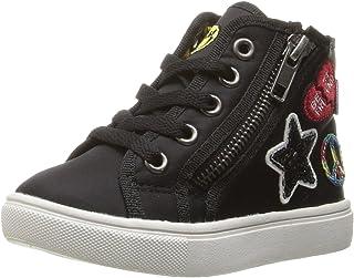 حذاء رياضي للبنات من Steve Madden TCODE أسود، مقاس 11 M US طفل صغير