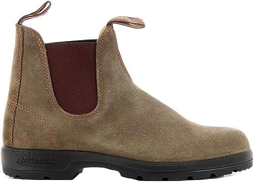 bleundstone - Taupe Suede bottes Style 1462 - BCCAL0295552 EL démarrage Olive