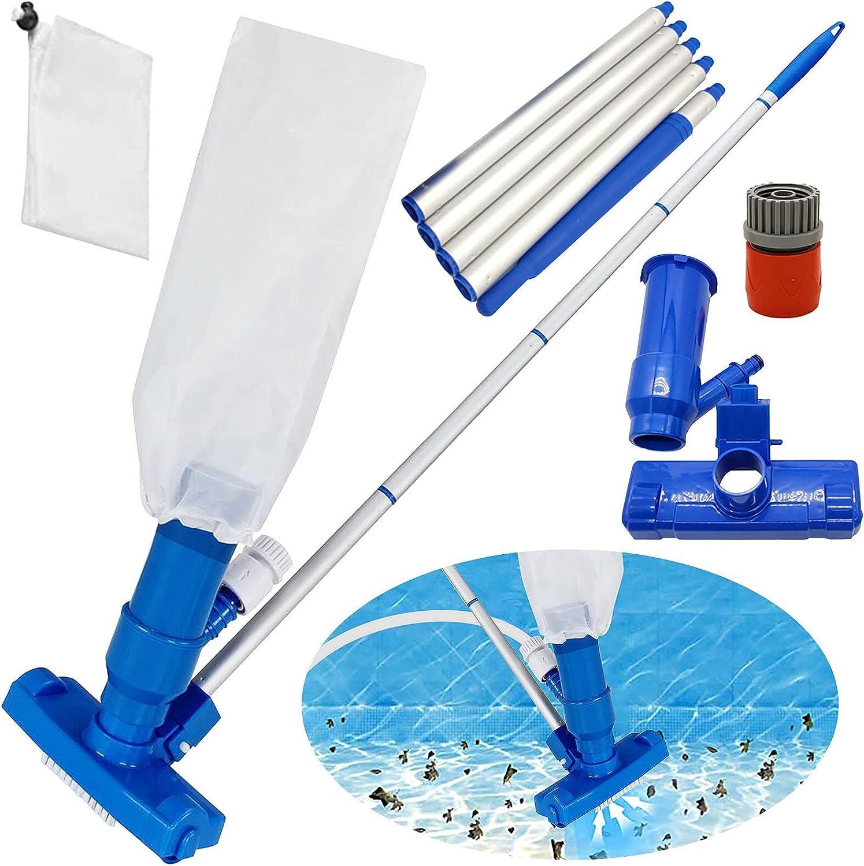Codiea Portable Swimming Pool 超特価 Vacuum Head Cleaner Sweep Ha Brush 正規販売店